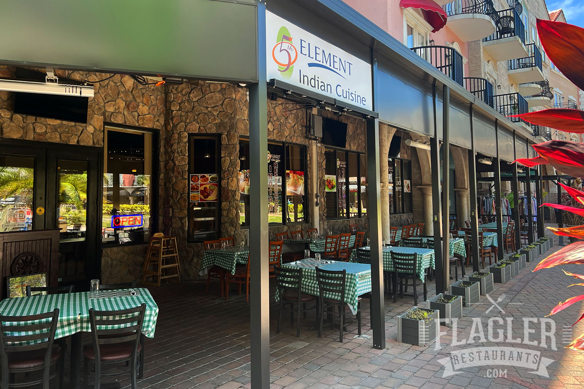 5th Element Indian Restaurant in Palm Coast