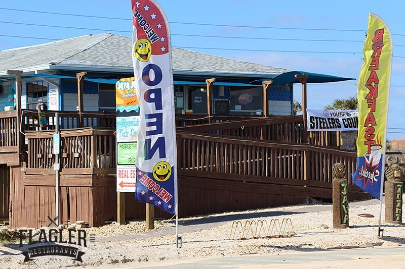 Java Joint Beachside Grill, Flagler Beach