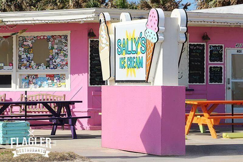 Sally's Ice Cream, Flagler Beach