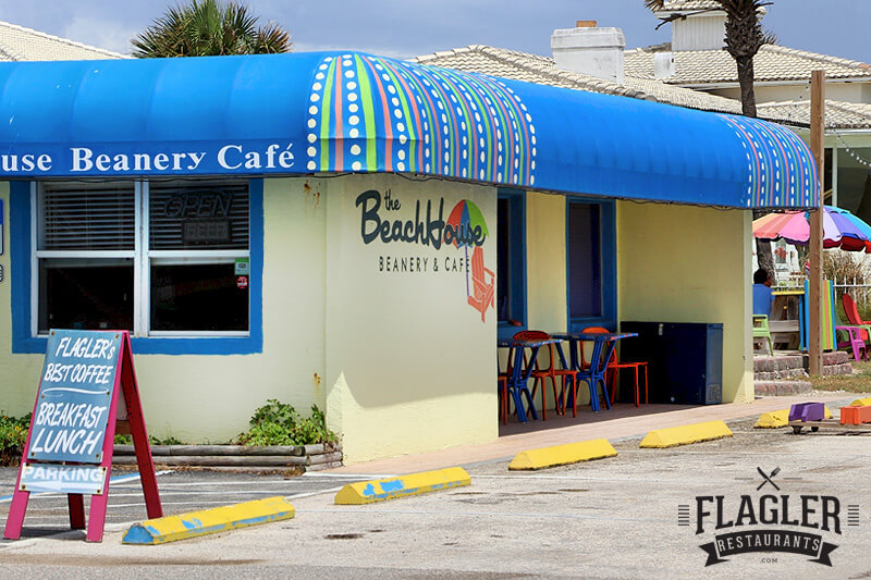 Beach House Beanery, Flagler Beach
