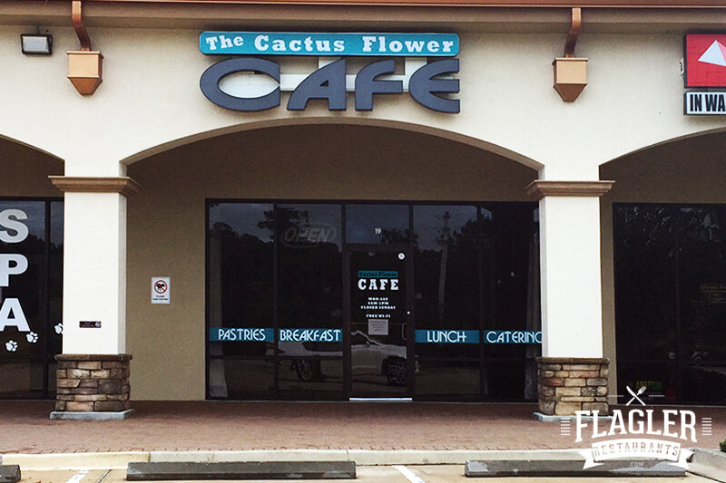 The Cactus Flower Cafe, Palm Coast