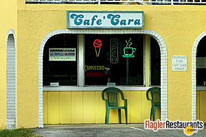Cafe Cara, Flagler Beach