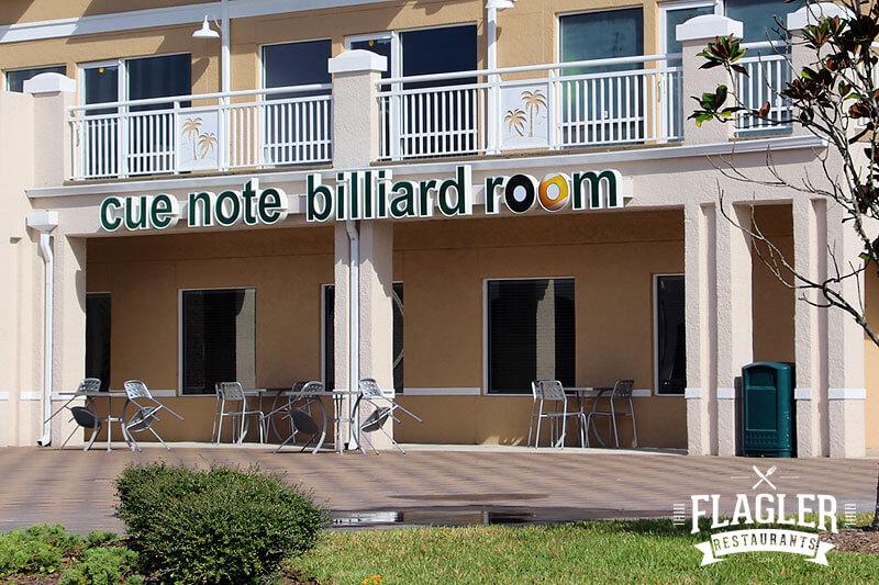 Cue Note Billiard & Sports Restaurant, Palm Coast