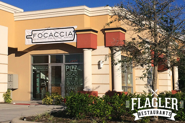 Focaccia Italian Eatery & Wine Bar, Palm Coast