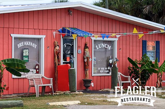 Friends Cafe, Flagler Beach