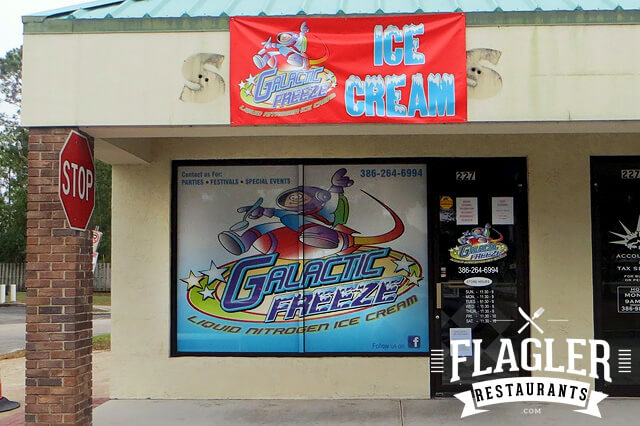 Galactic Freeze Liquid Nitrogen Ice Cream, Palm Coast