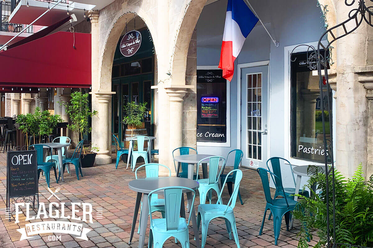 Gildas' Creperie du Village in Palm Coast