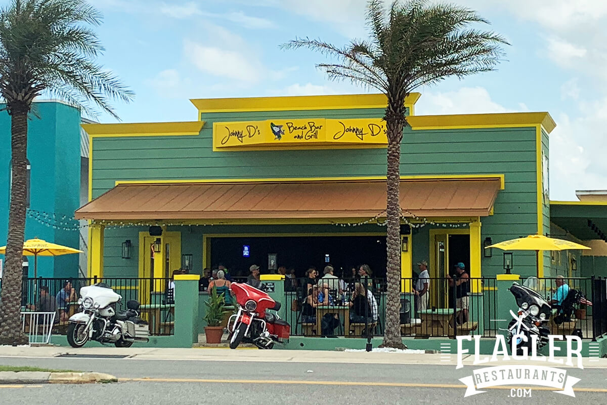 Johnny D's Beach Bar & Grill, Flagler Beach