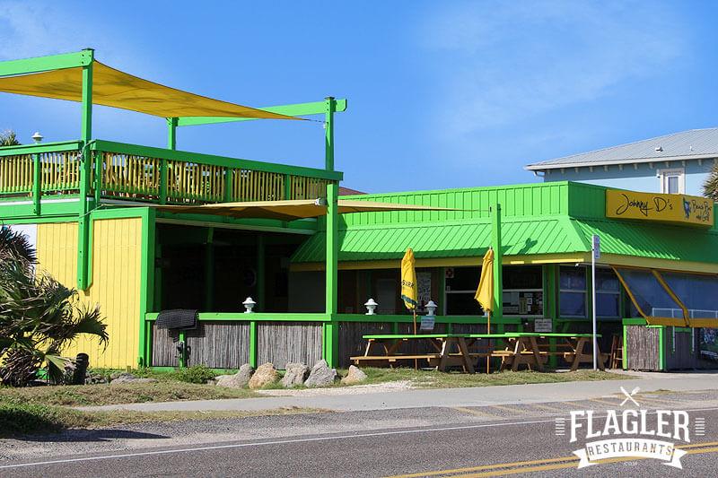 Johnny D's Beach Bar & Grill, Flagler Beach