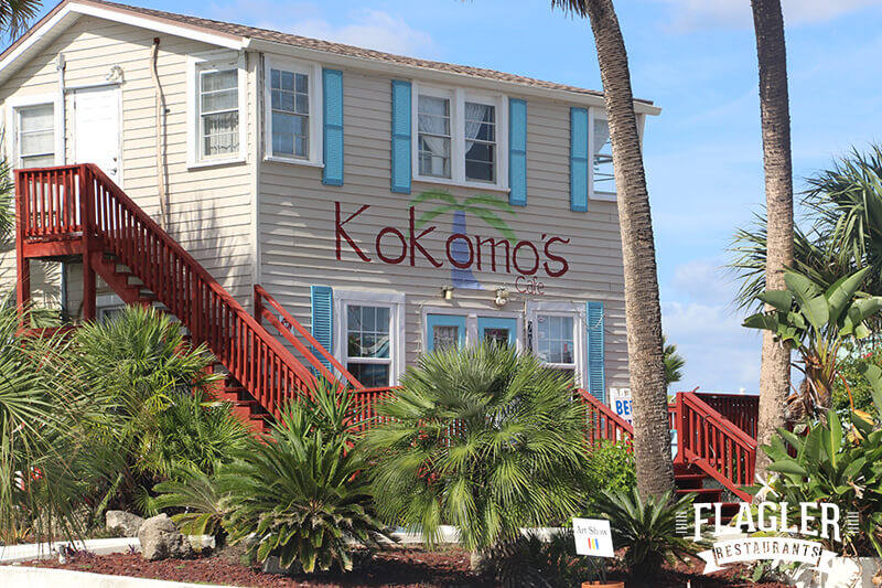 Kokomo's Art Cafe, Flagler Beach