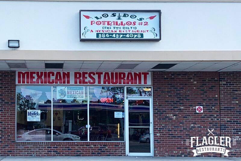 Los Dos Potrillos Mexican Restaurant, Bunnell