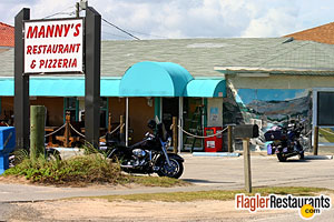 Manny's Pizza House IV, Flagler Beach