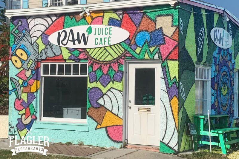 Raw Juice Cafe, Flagler Beach