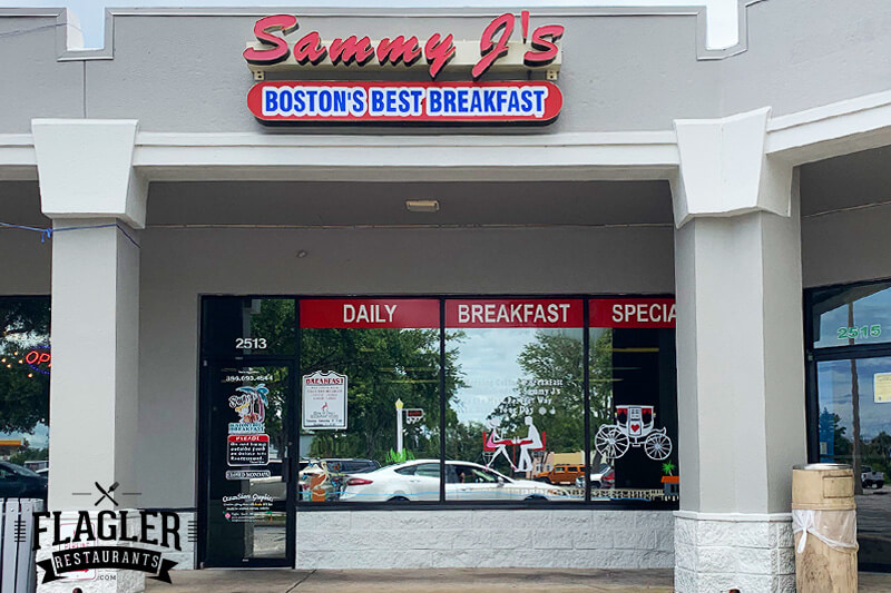 Sammy J's Boston's Best Breakfast, Flagler Beach