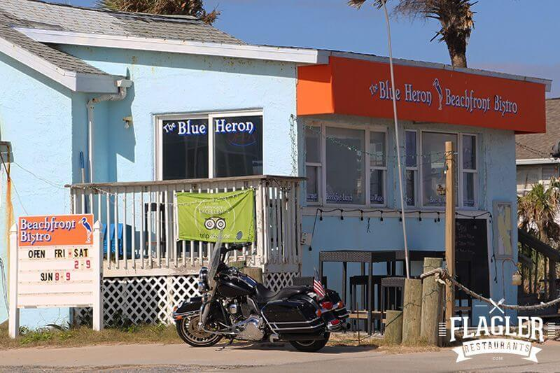 The Blue Heron Beachfront Bistro, Flagler Beach