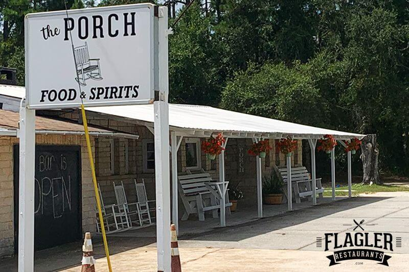 The Porch Food & Spirits, Bunnell
