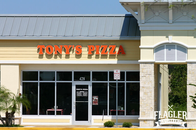 Tony's Pizza, Flagler Beach